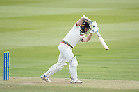 James Bracey, Gloucestershire CCC with a glorious off drive for four runs during Middlesex CCC vs Gloucestershire CCC, LV Insurance County Championship Group 2 Cricket at Lord's Cricket Ground on 7th May 2021