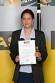 All Rounder category winner Kayla Cullen from Auckland Girls Grammar School. ASB College Sport Young Sportperson of the Year Awards 2008 held at Eden Park, Auckland, on Thursday November 13th, 2008.