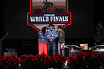 Andee Shae Nored during the Break Away and Tie Down Roping Back Number presentation at the Junior World Finals. Photo by Andy Watson. Written permission must be obtained to use this photo in any manner.