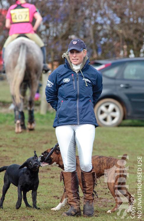 Zara Phillips at the Burnham Mkt International 3 day