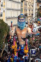 Nice le 19 Fevrier 2107 Place Massena unique sotie du Corso Carnavalesque Parada Nissarda de jour Houles et Joules