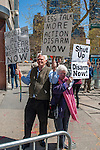 Anti War demonstration front of US Mission to United Nations, New York