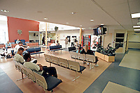 Accident and Emergency waiting room. This image may only be used to portray the subject in a positive manner..©shoutpictures.com..john@shoutpictures.com