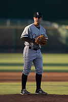 AZL White Sox starting pitcher Aaron Soto (36) prepares to deliver a pitch during an Arizona League game against the AZL Indians 1 at Goodyear Ballpark on June 20, 2018 in Goodyear, Arizona. AZL Indians 1 defeated AZL White Sox 8-7. (Zachary Lucy/Four Seam Images)