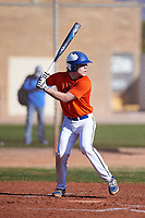 Tyler Stopera (47), from St. Anthony Village, Minnesota, while playing for the Orioles during the Under Armour Baseball Factory Recruiting Classic at Gene Autry Park on December 30, 2017 in Mesa, Arizona. (Zachary Lucy/Four Seam Images)