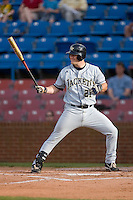 Tony Plagman #21 of the Georgia Tech Yellow Jackets at bat versus the Wake Forest Demon Deacons at Wake Forest Baseball Park April 18, 2009 in Winston-Salem, NC. (Photo by Brian Westerholt / Four Seam Images)