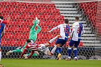 19th December 2020; Bet365 Stadium, Stoke, Staffordshire, England; English Football League Championship Football, Stoke City versus Blackburn Rovers; Nick Powell of Stoke City scores a 6th miunute goal