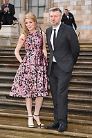"""Charlie Brooker<br /> arriving for the world premiere of """"Our Planet"""" at the Natural History Museum, London<br /> <br /> ©Ash Knotek  D3491  04/04/2019"""