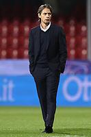 Filippo Inzaghi coach of Benevento Calcio<br /> prior to the Serie A football match between Benevento Calcio and Spezia Calcio at stadio Ciro Vigorito in Benevento (Italy), November 7th, 2020. <br /> Photo Cesare Purini / Insidefoto