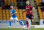 Dave Mackay Testimonial: St Johnstone v Dundee…06.10.17…  McDiarmid Park… <br />Gary Harkins and Jody Morris<br />Picture by Graeme Hart. <br />Copyright Perthshire Picture Agency<br />Tel: 01738 623350  Mobile: 07990 594431