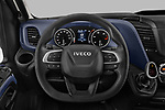 Car pictures of steering wheel view of a 2021 Iveco Daily 12m3-L3H2 4 Door Cargo Van Steering Wheel