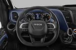 Steering wheel view of a 2021 Iveco Daily 12m3 L3H2 4 Door Cargo Van