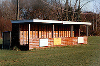 Station Road, home of Takeley Football Club (Essex), pictured circa 1990 - Gavin Ellis/TGSPHOTO - Self billing applies where appropriate - 0845 094 6026 - contact@tgsphoto.co.uk - NO UNPAID USE..