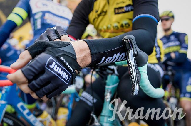the (new) race start in Antwerpen<br /> <br /> 101th Ronde Van Vlaanderen 2017 (1.UWT)<br /> 1day race: Antwerp › Oudenaarde - BEL (260km)
