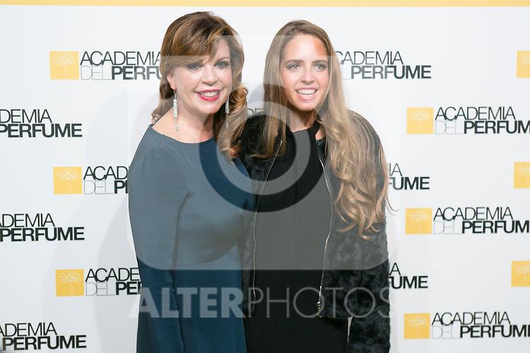 Belinda Washington and her daughter attend the Perfume Academy Awards at Casa de America, Madrid,  Spain. March 17, 2015.(ALTERPHOTOS/)Carlos Dafonte)