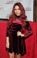 """Nicole Polizzi. TV reallity Jersey Shore star. sign her book """"Baby Bump"""" in NYC. New York City on January 15, 2013. Photo by Unimediaimages/Worldmedia/ DyD Fotografos-DYDPPA"""