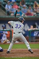 Brett Stephens (37) of the Grand Junction Rockies bats against the Ogden Raptors at Lindquist Field on September 6, 2017 in Ogden, Utah. Ogden defeated Grand Junction 11-7. (Stephen Smith/Four Seam Images)