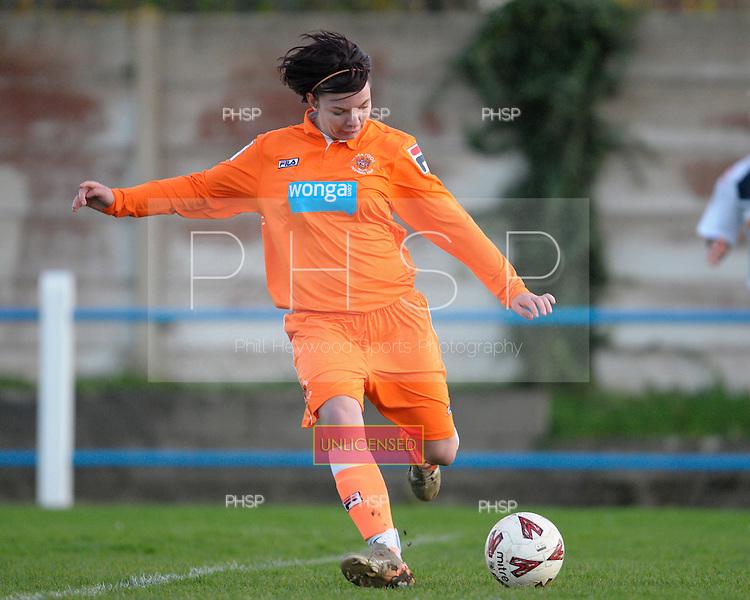 27/11/2011 Blackpool FC Ladies v Bolton Ladies......© Phill Heywood.