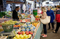 Le Marché Provencal [The Provencal Market], Antibes, France, 16 October 2013