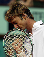 20030608, Paris, Tennis, Roland Garros, Juan Carlos Ferrerro wins Roland Garros