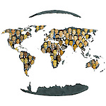 Concept of global business and social networking