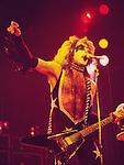 Kiss 1976 Paul Stanley.© Chris Walter.