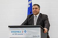 Inauguration Ecole St-Philippe, le 18 Janvier 2017 en presence du Ministre de l'Education Sebastien Roberge<br /> <br /> PHOTO : Agence Quebec Presse