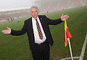DUNFERMLINE CHAIRMAN JOHN YORKSTON CAN'T BELIEVE REFEREE BOBBY MADDEN CALLED THE GAME OFF