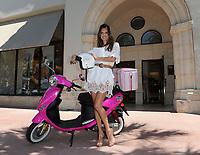 MIAMI BEACH, FL - JUNE 02:  Super-Model Alessandra Ambrosio at the Victoria's Secret Lincoln Road store.  Alessandra Ambrosio is one of the supermodels in the Victoria's Secret Bombshell Summer Tour. on June 2, 2011 in Miami Beach, Florida <br /> <br /> People:  Alessandra Ambrosio