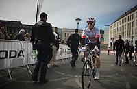 Michal Kwiatkowski (POL/OPQS) at the start<br /> <br /> Liège-Bastogne-Liège 2014