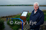 Noel Nash at Cashen River at the start of the Ballybunion Beach Loop Walk which goes from the Cashen River to the Mens Beach in Ballybunion.