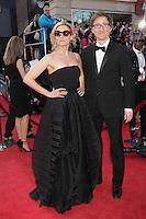 April 28, 2013 - Montreal, Quebec,  CANADA -  ARTIS Gala Red Carpet - Edith Cochrane (L) and husband  Emmanuel Bilodeau (R)