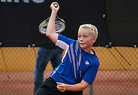 August 8, 2014, Netherlands, Rotterdam, TV Victoria, Tennis, National Junior Championships, NJK,  Daan Hendriks (NED)<br /> Photo: Tennisimages/Henk Koster