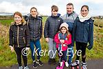 Enjoying a stroll in Lohercanon on Sunday, l to r: Natalie, Doireann, Stephen, Chloe, Philip and Katie Turner