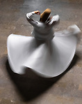 Turkey, Istanbul, whirling dervish