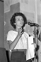 Milano, Luglio 1975, Emma Bonino, leader del Partito Radicale<br /> <br /> - Milan, July 1975, Emma Bonino, leader of the Radical Party