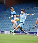 25.07.2020 Rangers v Coventry City: Ryan Jack and Callum O'Hare