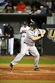 Siena Saints pinch hitter Nico Ramos (44) at bat during a game against the UCF Knights on February 17, 2017 at UCF Baseball Complex in Orlando, Florida.  UCF defeated Siena 17-6.  (Mike Janes/Four Seam Images)