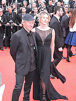 Cannes France May 12 2016 Philippe Poupon, Geraldine Danon attends the Money monster Premiere at the Palais des Festival During the 69th Annual Cannes Film Festival