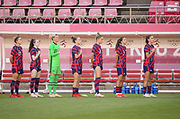 KASHIMA, JAPAN - AUGUST 5: The USWNT bench before a game between Australia and USWNT at Kashima Soccer Stadium on August 5, 2021 in Kashima, Japan.