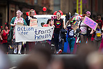 "© Joel Goodman - 07973 332324 . 23/08/2014 .  Manchester , UK . Action for Trans Health campaigning for transgender health issues . The parade through Manchester City Centre . Manchester Pride "" Big Weekend "" in Manchester "" today ( 23rd August 2014 ) . Photo credit : Joel Goodman"