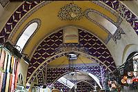 Europe/Turquie/Istanbul :  Voutes du  Grand Bazar