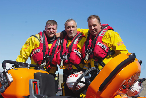 RNLI Bangor after duty at the Pickie to Pier swim