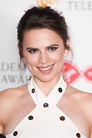 Hayley Atwell<br /> in the winners room for the BAFTA TV Awards 2018 at the Royal Festival Hall, London<br /> <br /> ©Ash Knotek  D3401  13/05/2018