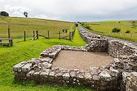 Cumbria, England, UK.  Turret 49B near Birdoswald Fort, Hadrian's Wall Footpath.