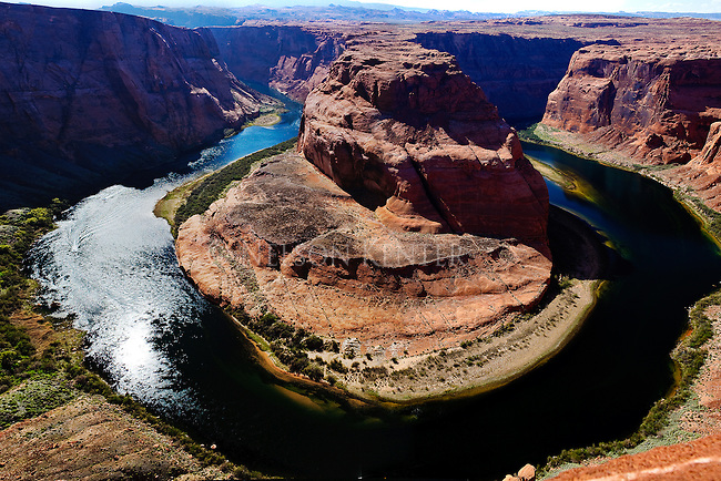 Horseshoe Bend on the Colorado River in Arizona
