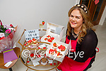 Roisin Looney Beaufort with the buns she baked for Valentines Day