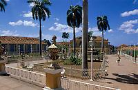 Cuba, Plaza Mayor in Trinidad, Provinz Sancti Spiritus, Unesco-Weltkulturerbe