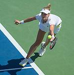 Ekaterina Makarova (RUS defeats Victoria Azarenka (BLR) 6-4, 6-2 at the US Open being played at USTA Billie Jean King National Tennis Center in Flushing, NY on September 3, 2014