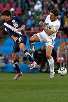 Robert koren (R) of Slovenia and Francisco Torres (L) of USA,
